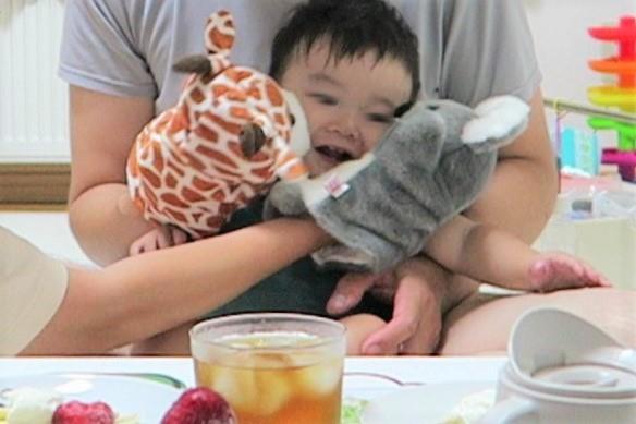 1歳の誕生日☆簡単手作りバースデーケーキと息子に贈った人生初のバースデープレゼント